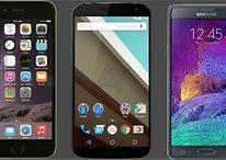 Nexus 6 vs iPhone 6 Plus vs Samsung Galaxy Note 4 : la vérité sur leur taille