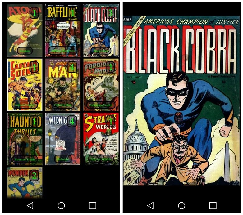 AndroidPIT Challenger Comics Viewer
