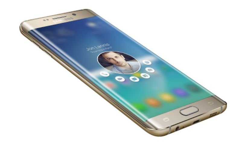 AndroidPIT Galaxy S6 edge People edge update