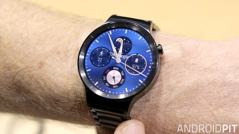 AndroidPIT Huawei Watch watch face hero