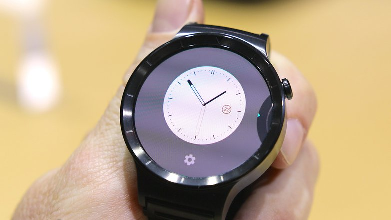 AndroidPIT Huawei Watch watch face options