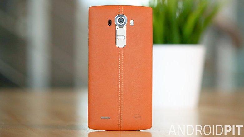 AndroidPIT LG G4 leather back