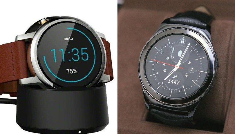 Moto 360 (2015) vs Samsung Gear S2 comparison: wristy business