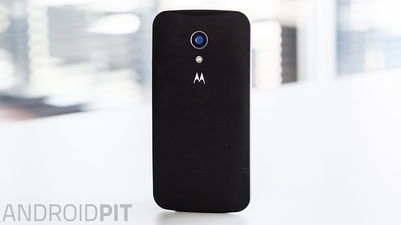 AndroidPIT Moto G 2014 Lollipop back cover