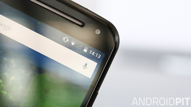 AndroidPIT Moto G 2014 Lollipop bezels