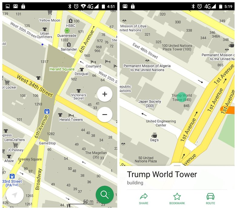 Best free offline map apps for Android AndroidPIT – Interactive Europe Map Travel Planner