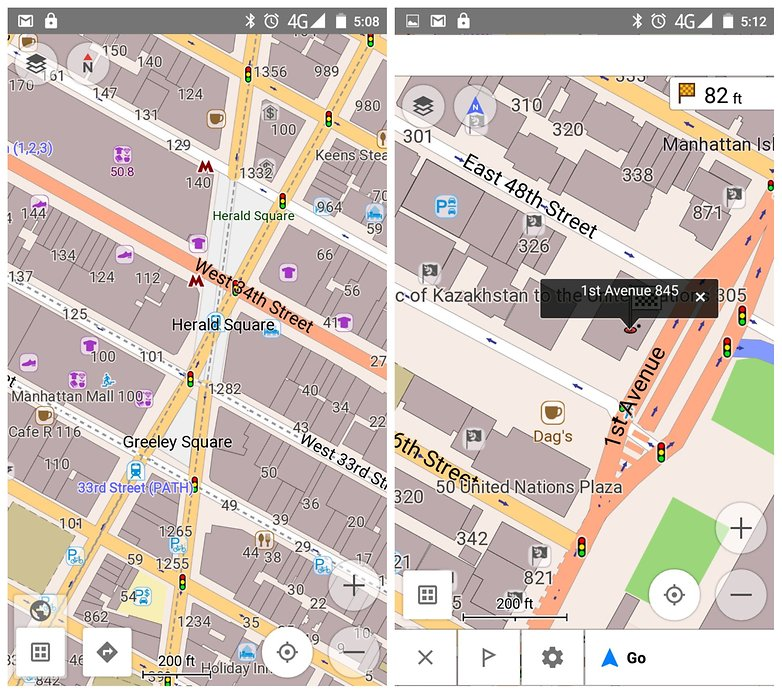 AndroidPIT Offline Maps osmand search navigation