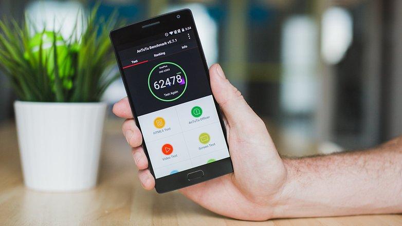 AndroidPIT OnePlus 2 AnTuTu benchmark