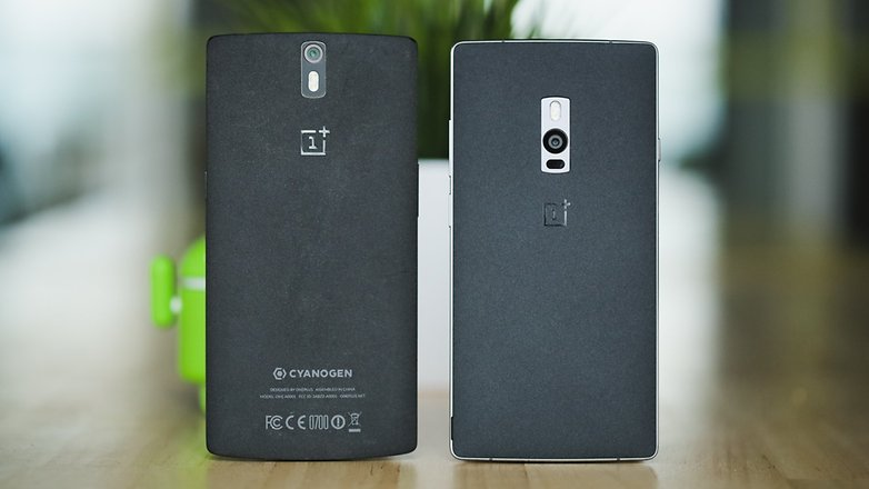 AndroidPIT OnePlus 2 OnePlus One back