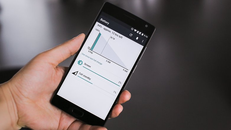 AndroidPIT OnePlus 2 battery 1