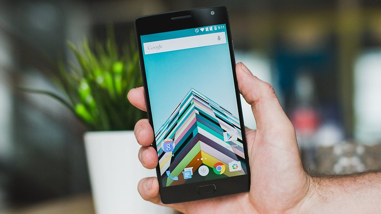AndroidPIT OnePlus 2 display 2