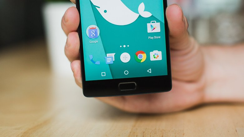 AndroidPIT OnePlus 2 on screen buttons 2