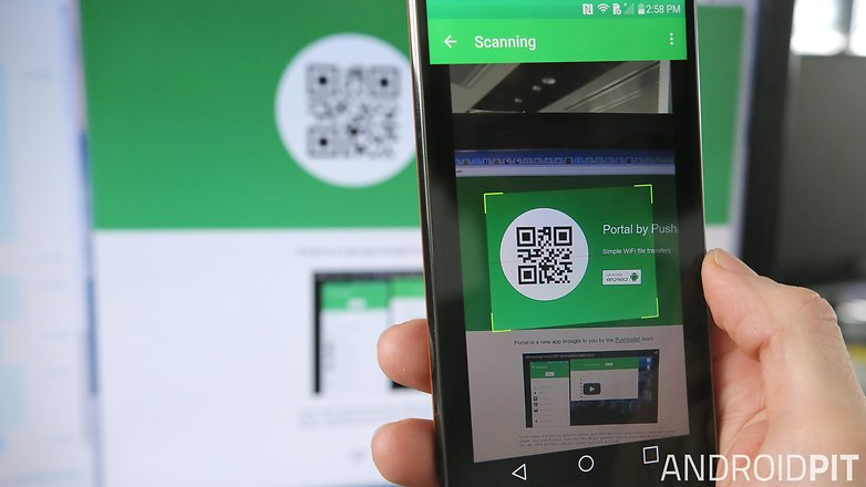 AndroidPIT Portal by Pushbullet qr code