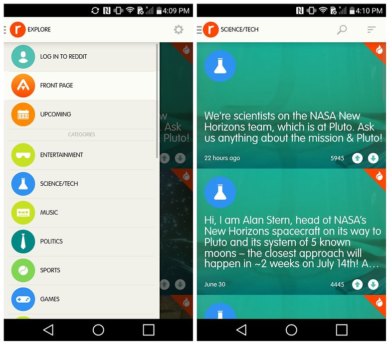 AndroidPIT Reddit AMA app