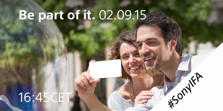 AndroidPIT Sony Xperia Z5 IFA invitation