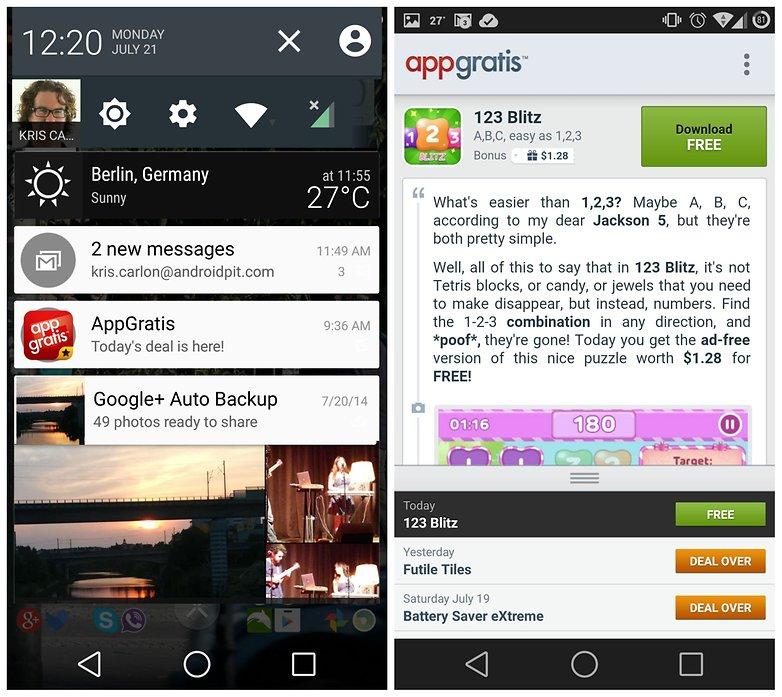 AndroidPIT App Gratis 123 Blitz