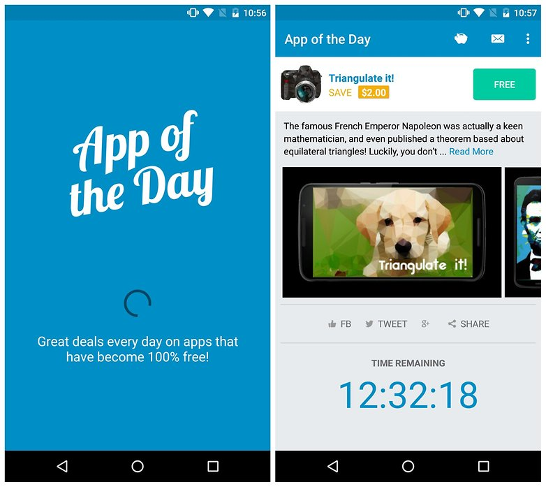AndroidPIT App of the Day triangulate it