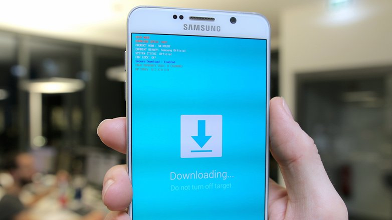 AndroidPIT Galaxy Note 5 download mode