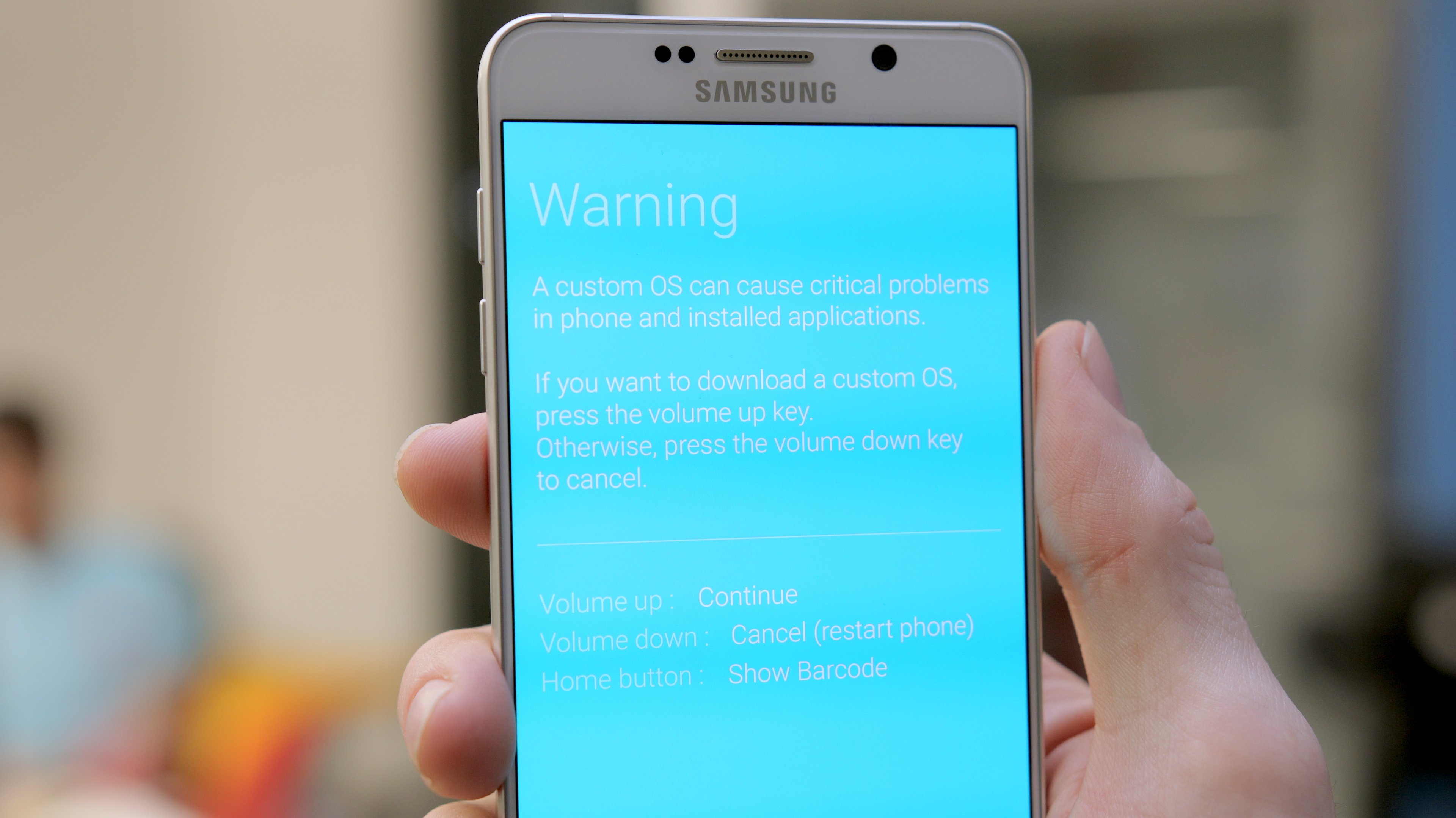 How to root the Galaxy Note 5 and install a custom recovery | AndroidPIT