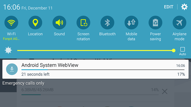 AndroidPIT Galaxy S6 notifications app update