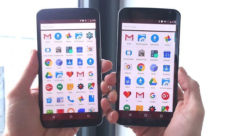 Como aumentar la pantalla de tu Nexus 6