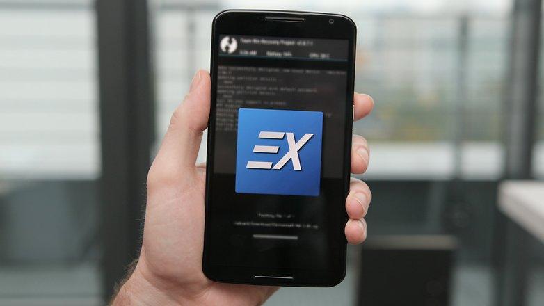 AndroidPIT Nexus 6 TWRP ElementalX kernel