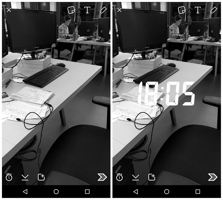 AndroidPIT Snapchat tips multiple filters
