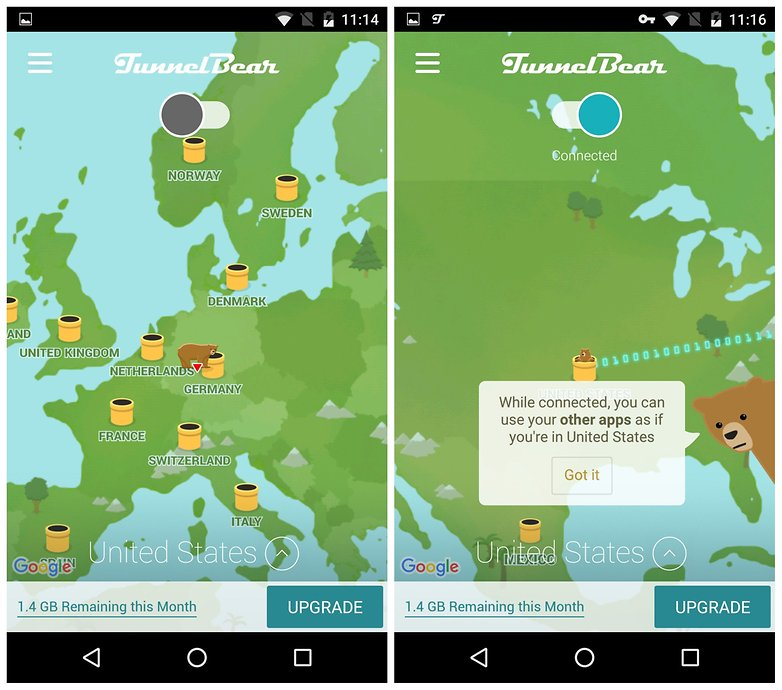 How to install incompatible apps or region restricted apps on androidpit tunnelbear vpn gumiabroncs Choice Image
