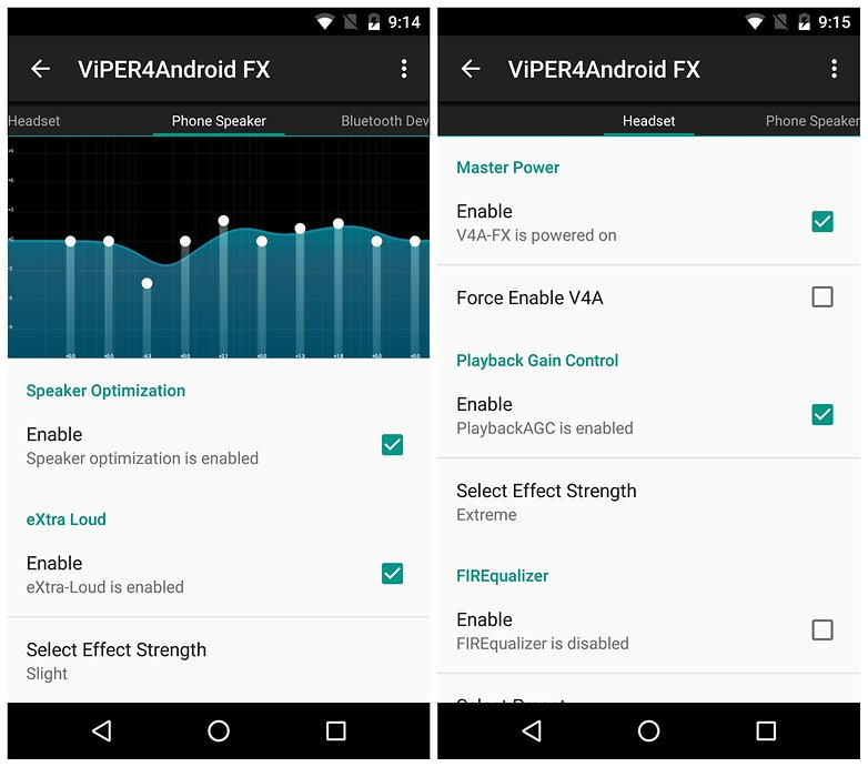AndroidPIT root apps viper4android fx