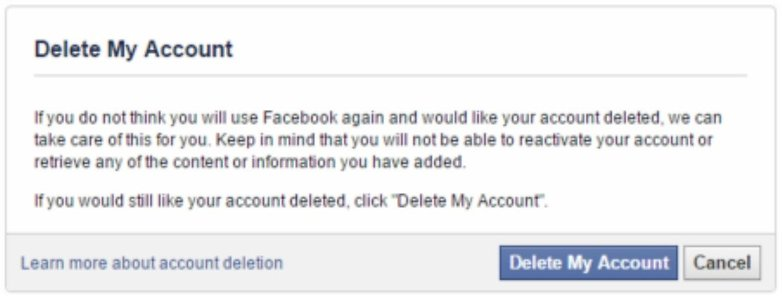 Nows the time how to delete a facebook account permanently deletefacebookaccount ccuart