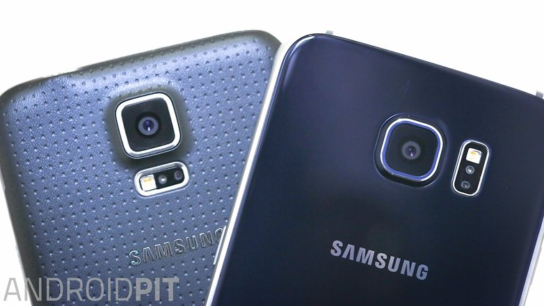 Samsung galaxy s5 vs Samsung galaxy s6 1 10
