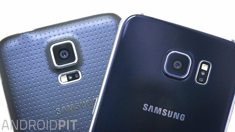 Samsung galaxy s5 vs Samsung galaxy s6 1 10