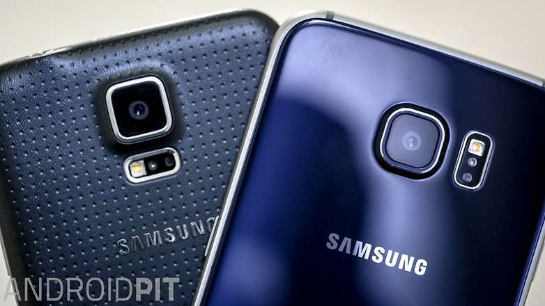 Samsung galaxy s5 vs Samsung galaxy s6 1 11