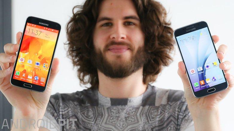 Samsung galaxy s5 vs Samsung galaxy s6 1 4
