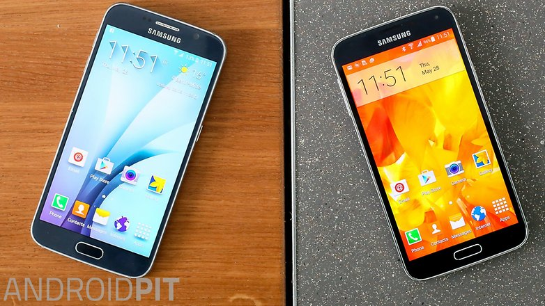 Samsung galaxy s5 vs Samsung galaxy s6 1 5