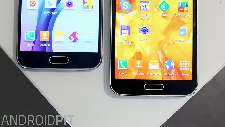 Samsung galaxy s5 vs Samsung galaxy s6 1 6
