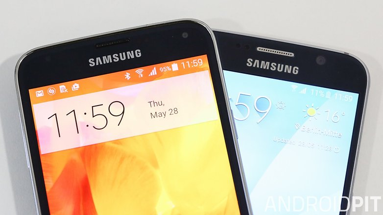 Samsung galaxy s5 vs Samsung galaxy s6 1 8
