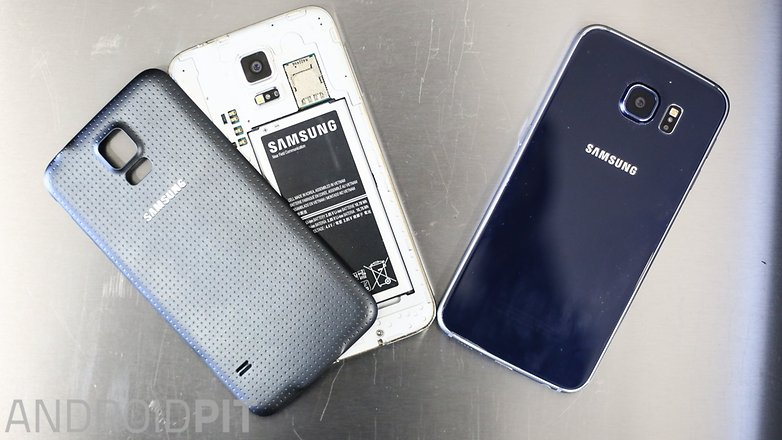 Samsung galaxy s5 vs Samsung galaxy s6 1