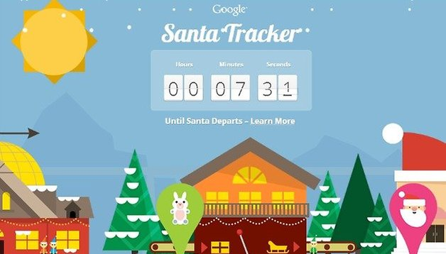 We have lift off! Santa Claus is a go! Get the Santa Tracker app now!