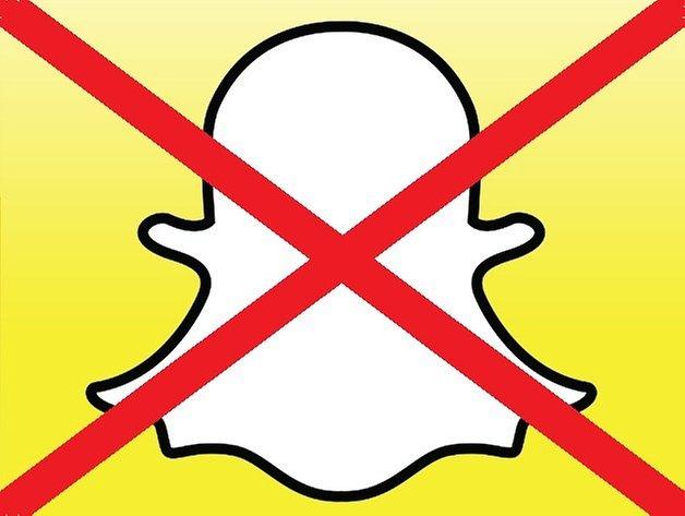 SnapchatLogoDelete