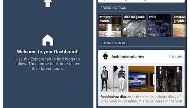 Tumblr Update Adds Tags and Blogs Search Function