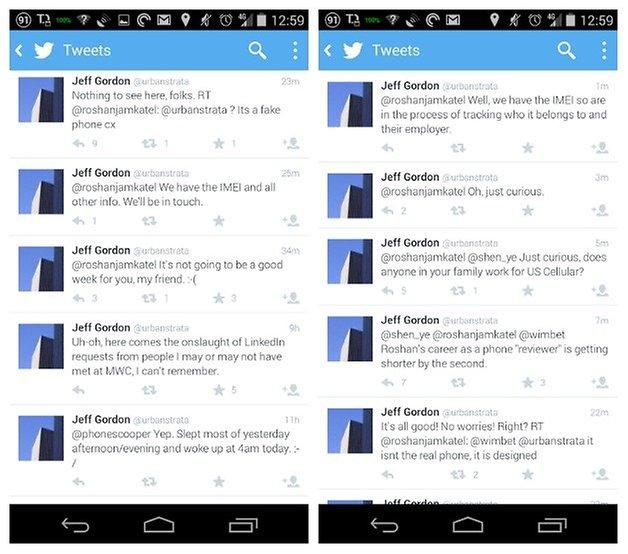 Twitter HTC M8 Leak