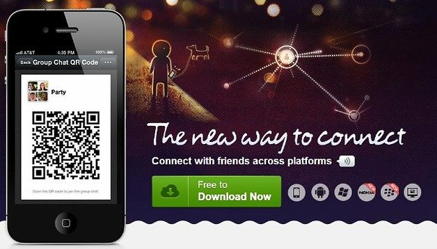 Chinese Multimedia Messaging App Wechat to take on US Market
