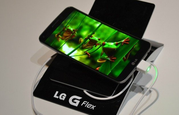 androidpit lg g flex display