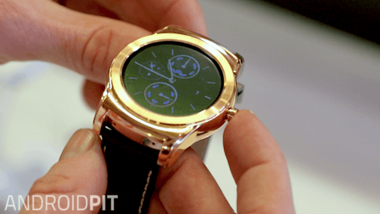 androidpit lg watch urbane gold hero