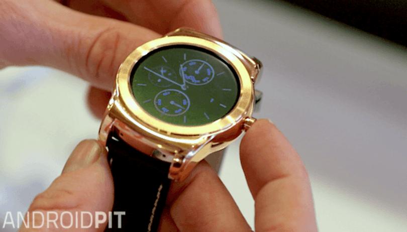 """LG announces 23-carat gold """"premium"""" Watch Urbane Luxe"""