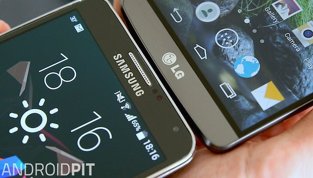 LG G3 vs.  Galaxy Note 3: i maestri del multitasking