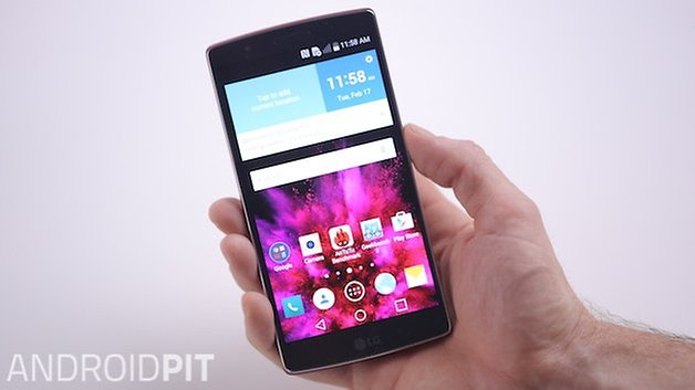 AndroidPIT LG G Flex 2 display 1
