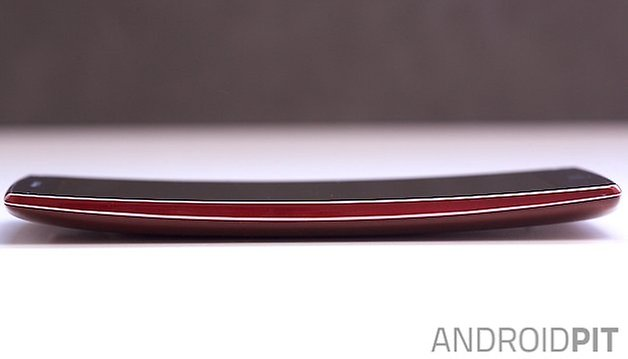 lg g glex 2 side curved