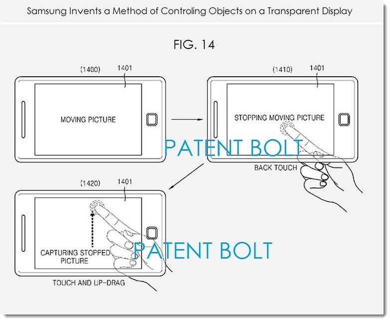 patent transparent display